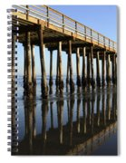 Avila Beach Pier California 2 Spiral Notebook