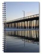 Avila Beach Pier California 3 Spiral Notebook