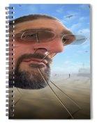 Awake . . A Sad Existence 2 Spiral Notebook