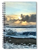 Awash In The Sea Spiral Notebook