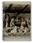 Away In The Manger Spiral Notebook