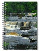 Aysgarth Falls Wensleydale Spiral Notebook