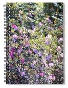 Azaleas In The Forest Spiral Notebook
