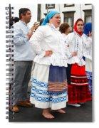 Azorean Folk Music Group Spiral Notebook