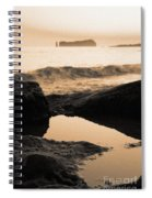 Azores Islands Seascape Spiral Notebook