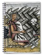 Aztec: Life And Death Spiral Notebook