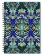 Azuraz Candle Tiled Spiral Notebook