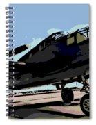 B-25 Bomber Spiral Notebook
