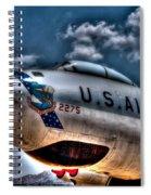 B-47 Stratojet Spiral Notebook