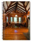 Babcock Cabin Interior 2 Spiral Notebook