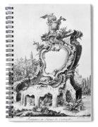 Babel: Fountain Spiral Notebook