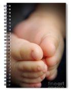 Baby Feet Spiral Notebook