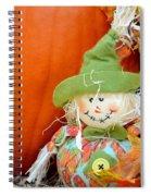 Baby Scarecrow Spiral Notebook