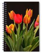 Baby Tulips Spiral Notebook