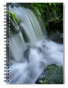 Baby Waterfall Spiral Notebook