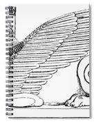 Babylonian Sphinx Spiral Notebook