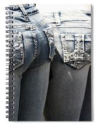 Back End Bling Spiral Notebook