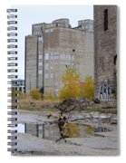 Back Of Warehouse Branches 1 Spiral Notebook