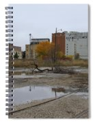 Back Of Warehouse Cold Storage 1 Spiral Notebook