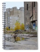 Back Of Warehouse Loading Dock 2 Spiral Notebook