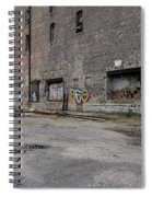 Back Of Warehouse Loading Dock Spiral Notebook