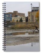 Back Of Warehouse Train 1 Spiral Notebook