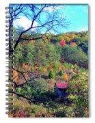 Back Road Barn Spiral Notebook