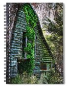 Back To Nature - Crumbling Barn Spiral Notebook