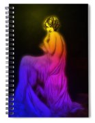 Back To The Twenties Color Spiral Notebook