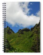 Backside Of The Napali Coast Spiral Notebook