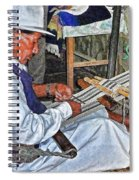 Backstrap Loom - Ecuador Spiral Notebook