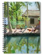 Backwaters India  Spiral Notebook
