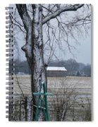 Backyard Panoramic Spiral Notebook