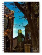 Backyard View Charleston Sc Spiral Notebook