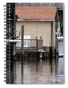 Backyard Waterway Spiral Notebook