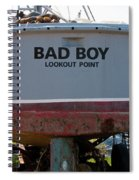 Bad Boy 0118 Spiral Notebook