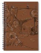 Bad Dream Spiral Notebook