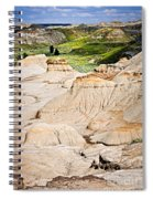 Badlands In Alberta Spiral Notebook