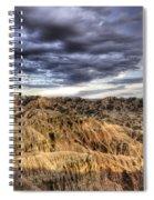 Badlands Of South Dakota Spiral Notebook