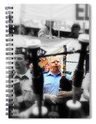 Bagpiper Spiral Notebook