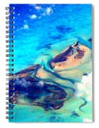 Bahama Out Island Filtered Spiral Notebook