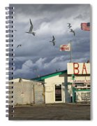 Bait Shop By Aransas Pass In Texas Spiral Notebook