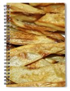 Baked Potato Fries Spiral Notebook