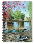 Bakewell Bridge - Derbyshire Spiral Notebook