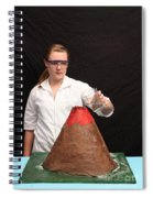 Baking Soda Volcano 1 Of 4 Spiral Notebook