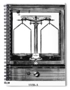 Balance, 20th Century Spiral Notebook