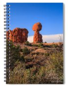 Balance Rock I Spiral Notebook