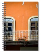 Balcony With Palms Spiral Notebook