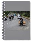 Balinese Transportation Spiral Notebook