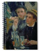 Ball At The Moulin De La Galette Spiral Notebook